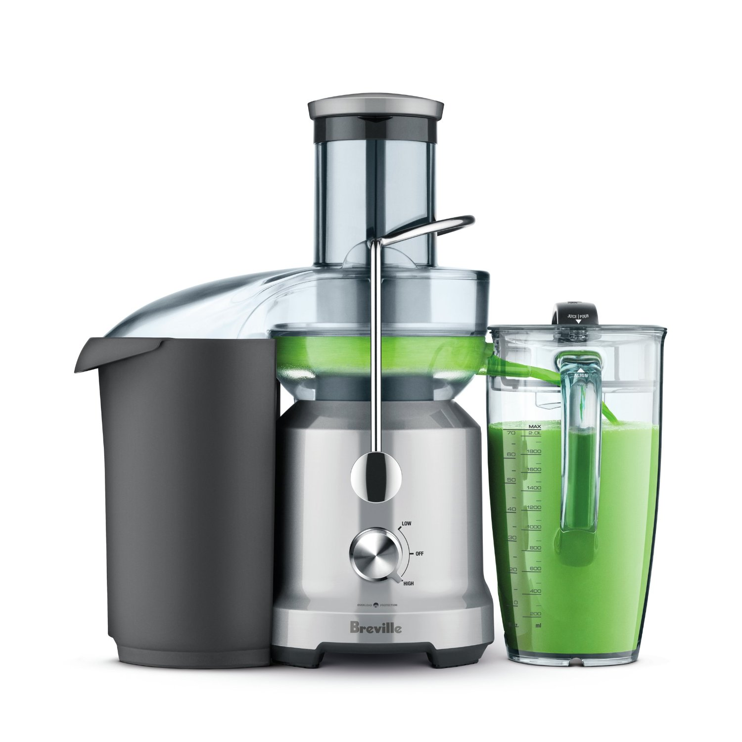 Breville L.P. BJE430SIL The Juice Fountain Cold-Juicer, Silver