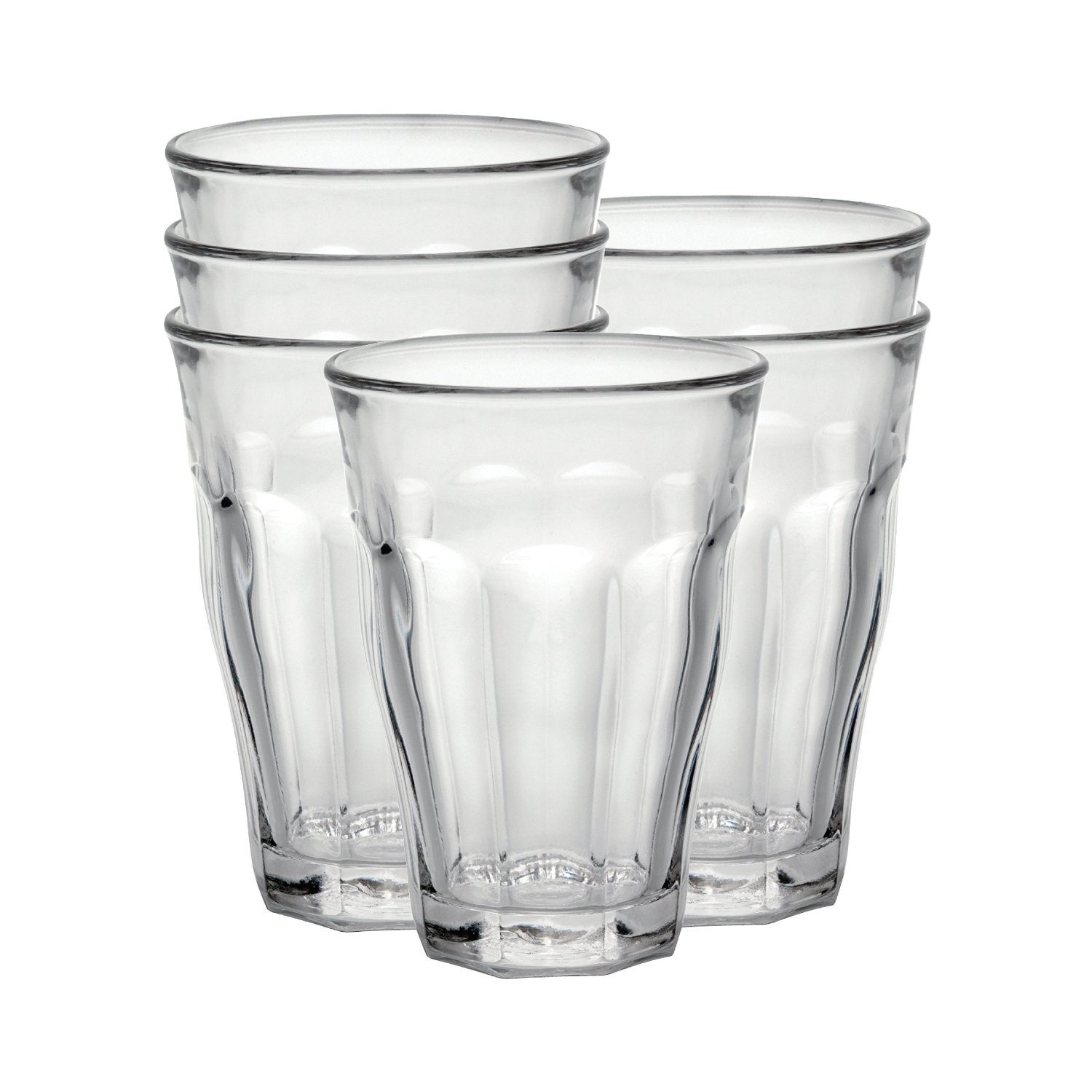 Duralex Picardie 16-7/8-Ounce Clear Tumbler, Set of 6